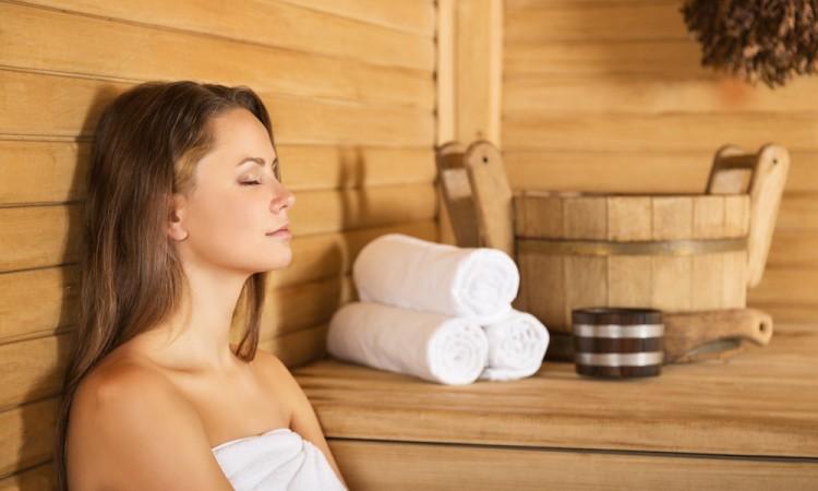 Sauna, Hotel, Women.